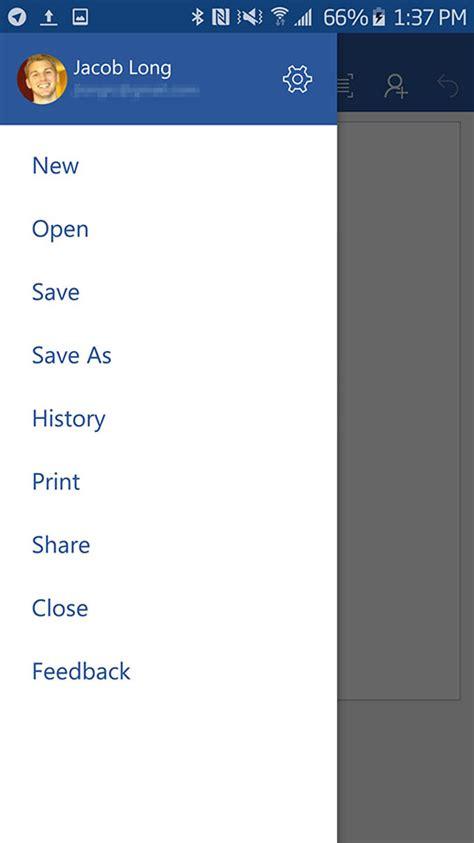 Microsoft Office Updates Microsoft Office Update Voor Android Brengt Autosave Functie