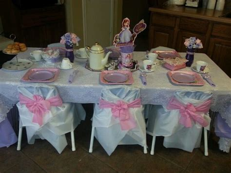 images about tea parties on pinterest table decorations sofia the first tea party table decorations party