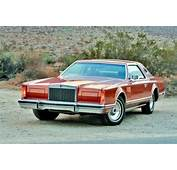 Contrasting Coupes  1977 Lincoln Mark V 1978 Cadill
