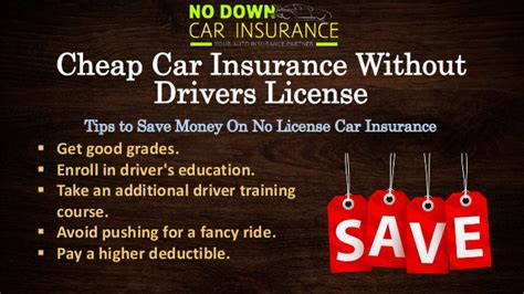 Cheap Car Insurance Without Drivers License ? Know About