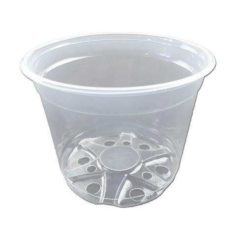 Clear Planter Pots by Clear Plastic Pot 6 Quot