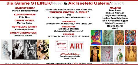 Muster Einladung Ausstellung Premiere In Z 252 Rich Ausstellung Quot Wiener Erotik Mehr Quot Nachrichten Schweiz Presse Und