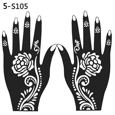 henna design tools wholesale henna stencil temporary hand tattoo body arts