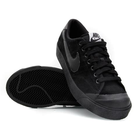 nike all court low leather 007 mens casual shoes