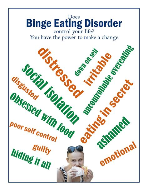 bed disorder don t let binge eating disorder control your life