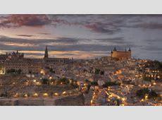 Full HD Wallpaper toledo aerial view evening spain ... Games Wallpaper Hd