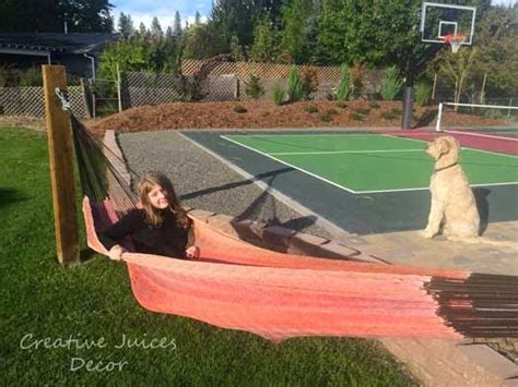 Backyard Cout Ideas 17 Best Images About Backyard Pickleball Courts On Hammock Stand Creative And