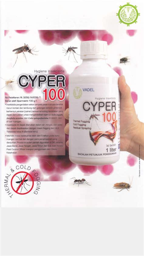 Obat Fogging jual obat fogging cyper 100 ec 1 liter heansa kimia