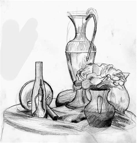 Sketches In Stillness by Paolo Ferrara S Observational Drawing 2 Annotated