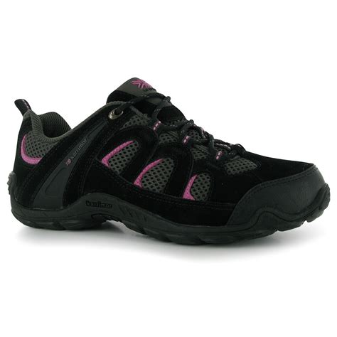 karrimor summit walking shoes womens black pink hiking