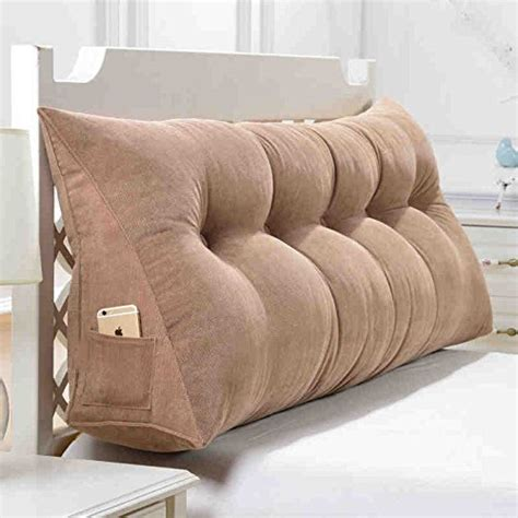 bed cushions pillow headboard home design