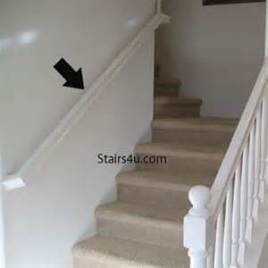 what is handrailing continuous stairway handrailing