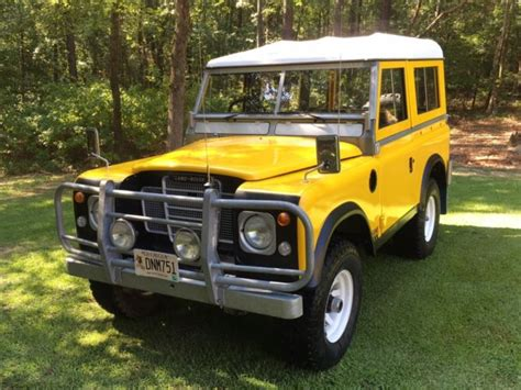 land rover 88 quot series 3 edition unbelievably