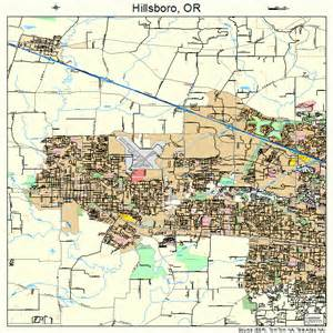 maps hillsboro oregon hillsboro oregon map 4134100