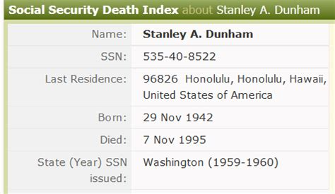 Birth Records By Social Security Number Combinations Obama Conspiracy Theories