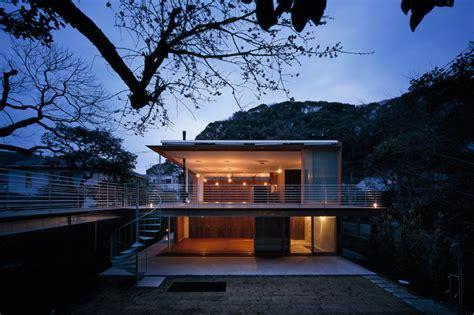 mountain works home design tezuka architects house to catch the mountain