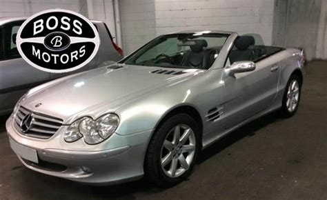 active cabin noise suppression 2006 mercedes benz sl class navigation system used 2006 mercedes benz sl sl350 for sale in west midlands pistonheads