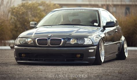 stance bmw stance works bagged bmw e46