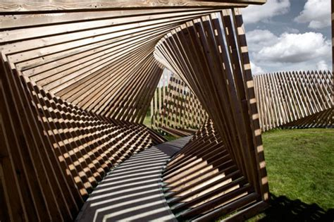 visitor pattern là gì contorted wooden structure creates soundtrack from