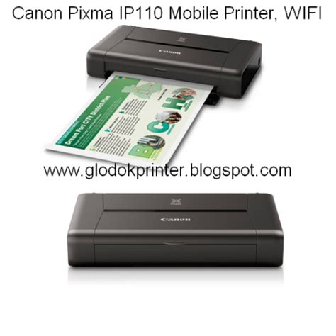 Printer Kecil harga printer canon ip110 wifi mobile portable printer glodok printer