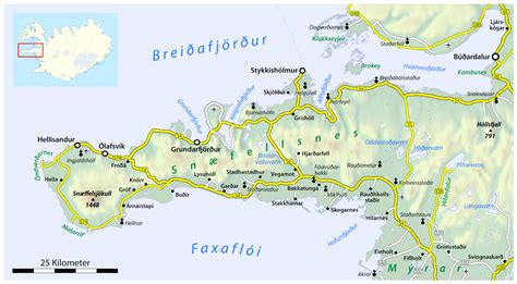 peninsula map the sn 230 fellsnes peninsula