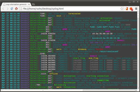 linux logs tutorial tri linux how to install colorize log files on centos and