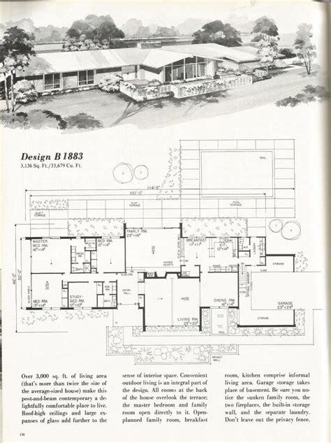 mid century floor plans 64 best mid century architecture images on pinterest