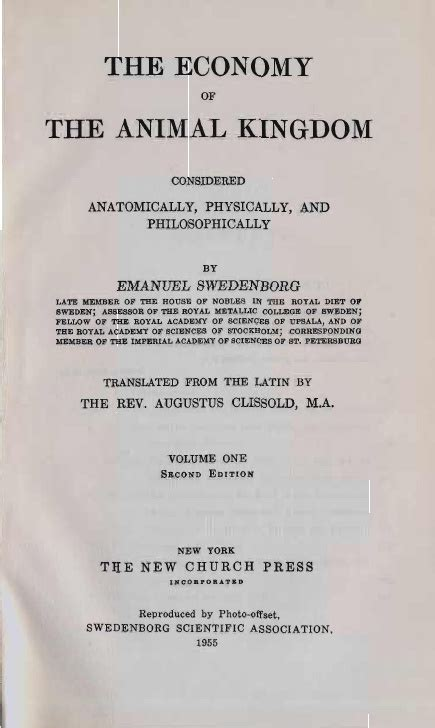 the economy of the animal kingdom considered anatomically physically and philosophically classic reprint ebook em swedenborg the economy of the animal kingdom 1740 1741