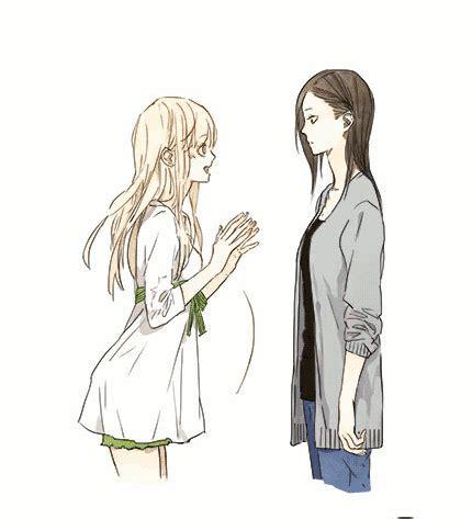 girl yuri anime love couples sun jing x qiu tong tumblr