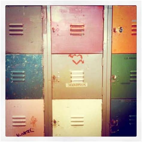 color decorative storage ideas using vintage lockers