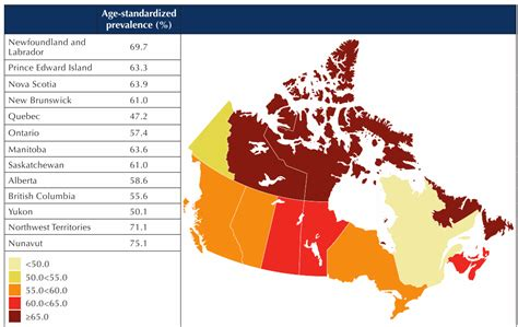 canadian map facts diabetes in canada facts and figures from a health