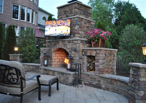 outdoor kitchen with fireplace marvel design inspiration archives aga and marvel