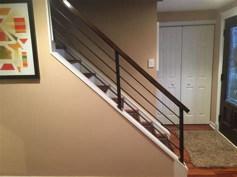 Metal Banister Railing by Metal Stair Railing Metal Stair Railing For Front Step Images About Metal Entry Ralings On