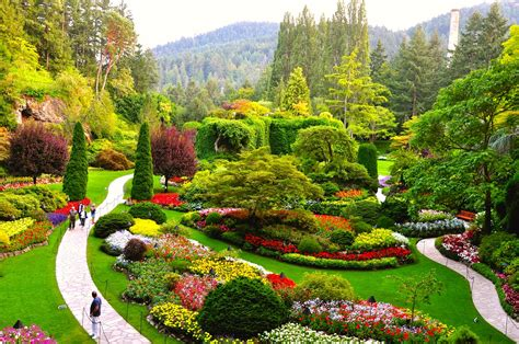 Garden Of by Alaska Shore Experts Butchart Gardens