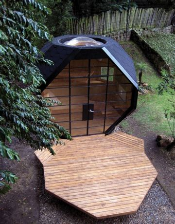 Backyard Pod by Backyard Office Pods Cabins And Sheds