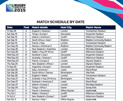 printable calendar rugby world cup 2015 world cup time table 2015 marathi new calendar template site