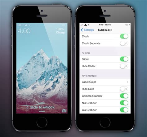 give your iphone an ios 7 makeover with this new theme how to give ios 7 lock screen a minimalistic makeover