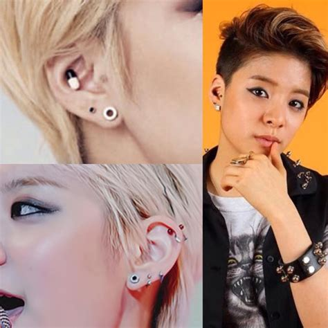 vote k pop idols with the best piercings soompi