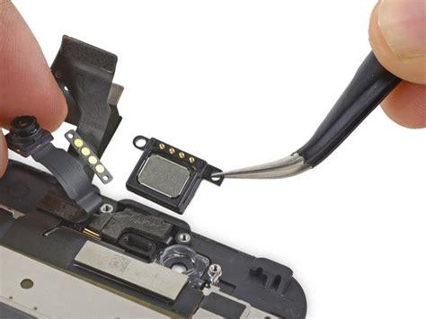 iphone 6s earpiece speaker replacement ifixit repair guide
