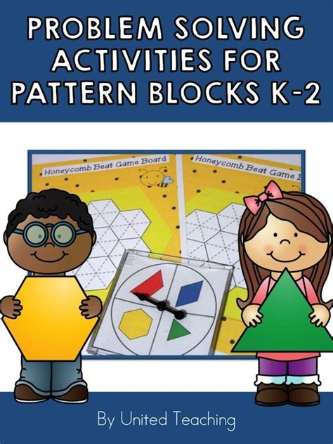 pattern problem solving activities 203 best pattern blocks images on pinterest pattern