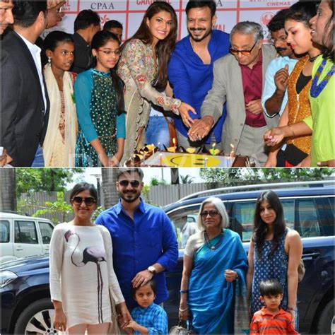 actor vivek birthday vivek oberoi and his family ring in the actor s birthday