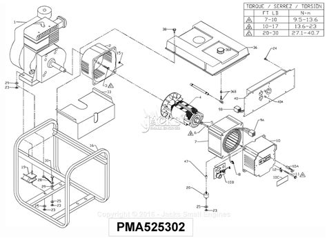 powermate formerly coleman pm0545007 01 parts diagram for