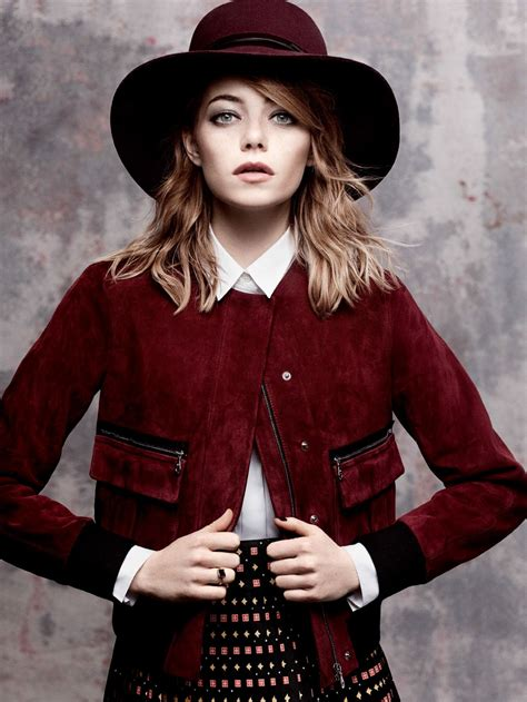 Emma Stone Vogue Cover | emma stone photoshoot for vogue magazine may 2014 by