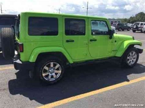 lime green 4 door jeep wrangler for sale jeep wrangler unlimited 2013 lime green 4