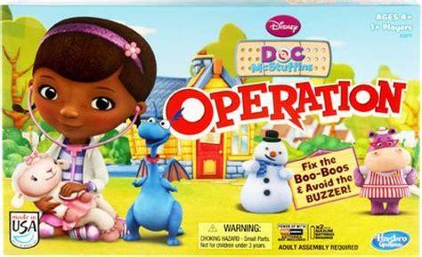 doc mcstuffin operation operation doc mcstuffins edition board hasbro board a z board