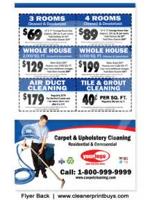 Upholstery New Jersey Carpet Cleaning Flyer 8 5 X 5 5 C0006
