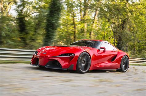 Toyota Supra Concept Toyota Ft 1 Concept Car Gives Us Supra Dreams At 2014 Naias