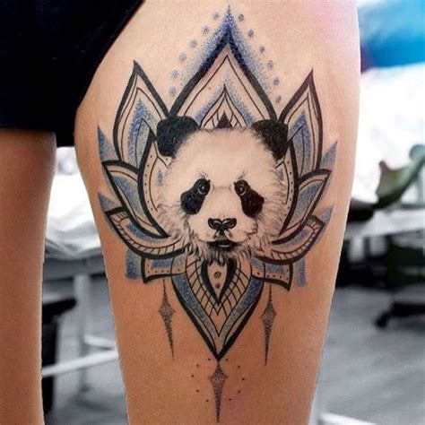 panda elephant tattoo best 25 panda tattoos ideas on pinterest cute henna
