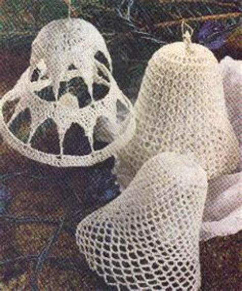 3 lace bell ornaments allfreecrochet com