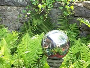 how to make mirrored gazing balls for the garden the garden glove